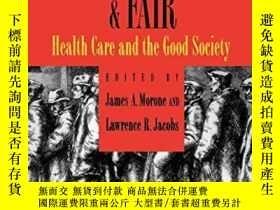 二手書博民逛書店Healthy,罕見Wealthy, & FairY364682 Morone, James A. (edt)