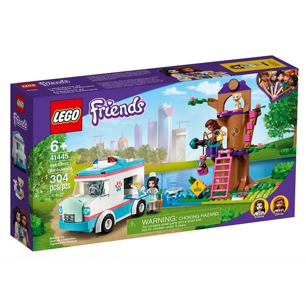LEGO樂高 Friends系列 獸醫診所救護車_LG41445