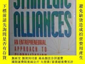 二手書博民逛書店【英語】原版英文書《罕見Strategic Alliances: