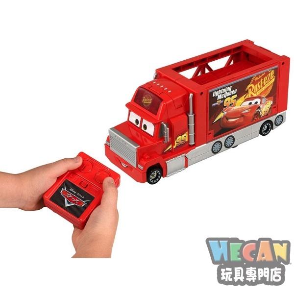 TOMICA CARS 汽車總動員 麥大叔 紅外線遙控收納貨車 (TAKARA TOMY) 13862