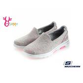 SKECHERS 2019最新健走鞋 GOWALK 5 成人女款 運動鞋 粉紅絲帶款 S8251#粉紅◆OSOME奧森鞋業