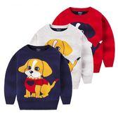 上衣 2018新款兒童毛衣 男女童套頭寶寶秋冬保暖針織衫小孩打底衫韓版 雙11購物節