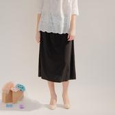 【中大尺碼】MIT超柔萊卡長裙