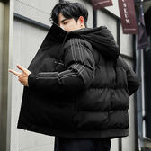 型男帥氣個性面包服棉襖 男士韓版潮流加厚棉衣 男款冬天加絨百搭棉衣 男生冬天加厚保暖外套