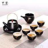 功夫茶具套裝陶瓷日式簡易茶壺茶杯公道杯家用茶具茶道配件igo   麥琪精品屋