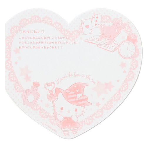 《Sanrio》HELLO KITTY水溶性秘密便條紙(心動魔法)★funbox生活用品★_690317N