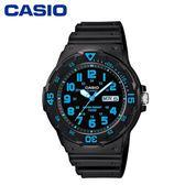 CASIO 指針膠帶錶-MRW-200H【愛買】