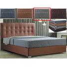 皮床 布床架 CV-169-6A 凱拉5尺淺灰色雙人床(不含床墊及床上用品)【大眾家居舘】