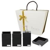 精品衛浴精裝禮盒組-黑色西武