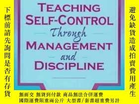 二手書博民逛書店Teaching罕見Self-control Through Management And Discipline