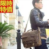 相機包-復古帆布休閒攝影肩背攝影包3色68ab11【時尚巴黎】