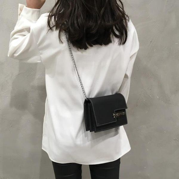 小方包 包包新款潮韓版百搭時尚鍊條小方包斜挎單肩包女 唯伊時尚