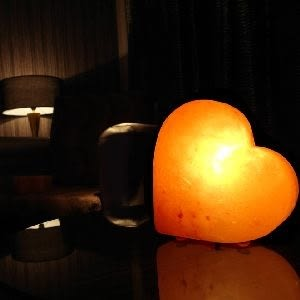 鹽燈 [Naluxe] 時尚開運水晶鹽燈-心願