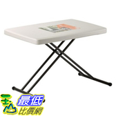 [COSCO代購 ] Lifetime 個人折疊桌 Lifetime Adjustable Personal Table _W473125
