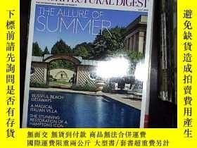 二手書博民逛書店AD罕見ARCHITECTURAL DIGEST JULY 2013.Y180897