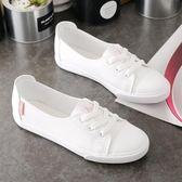 MG 小白鞋運動鞋板鞋帆布鞋女平底鞋