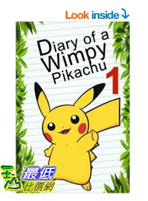 [美國直購] Pokemon Go: Diary Of A Wimpy Pikachu 1 (Pokemon Books) (Volume 2) 平裝本
