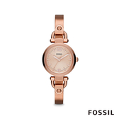 FOSSIL GEORGIA 迷你女錶-玫瑰金 26mm