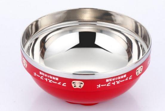 現貨/招財福氣泡麵碗 不銹鋼飯盒多功能日式時尚快餐杯 學生用便當盒【Mr.1688先生】