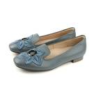 HUMAN PEACE 休閒鞋 低跟鞋 皮質 藍色 女鞋 061730NB no291