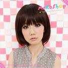 *MoKoShOp*小三黎薇恩髮型香菇BOB鮑伯短髮全頂假髮【LY63251】