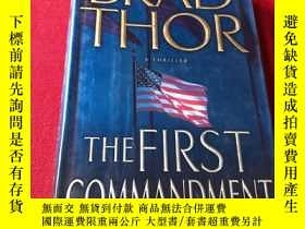 二手書博民逛書店The罕見First Commandment: A ThrillerY16761 The First Comm