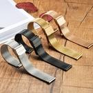 手錶帶代用dw男女米蘭精鋼不銹鋼帶超薄新...