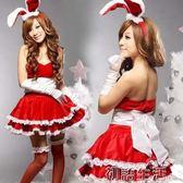 新款聖誕服裝女成人舞臺演出服COS兔女郎聖誕連衣裙表演服裝 初語生活館