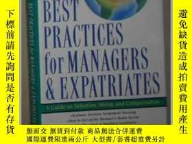 二手書博民逛書店英文原版罕見Best Practices for Manager