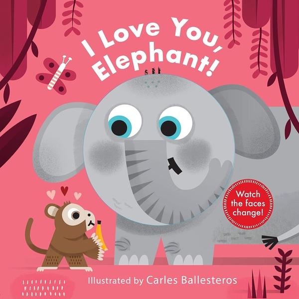 Little Faces:I Love You,Elephant! 變臉操作書