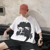 男短袖t恤胖子大碼衣服寬松情侶【左岸男裝】