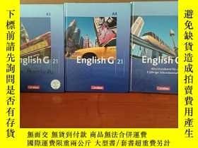 二手書博民逛書店English罕見G 21 - Ausgabe A: Band 3;4;5; 7. Schuljahr - Sch