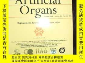 二手書博民逛書店外文書罕見ARTIFICIAL ORGANS 2006 10.3