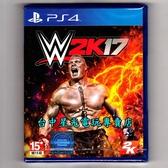 【PS4原版片 可刷卡】☆ WWE 2K17 ☆英文版全新品【單機可支援4人同時遊玩】台中星光電玩