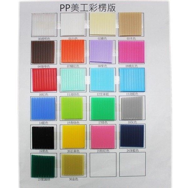 全張 塑膠瓦楞板 厚度3mm/一袋10大張入(定60) 一般標準 PP瓦楞板 60cm x 100cm 廣告板-萬