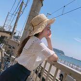 【新年鉅惠】草帽女夏小清新正韓百搭防曬遮陽帽度假可折疊大檐帽