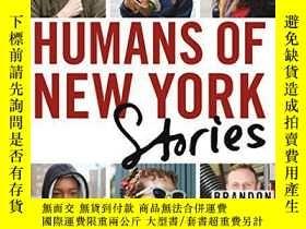 二手書博民逛書店英文原版Humans罕見of New York: Stories