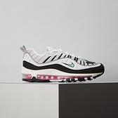 Nike Air Max 98 女鞋 白黑 復古 氣墊 慢跑鞋 休閒鞋 AH6799-065