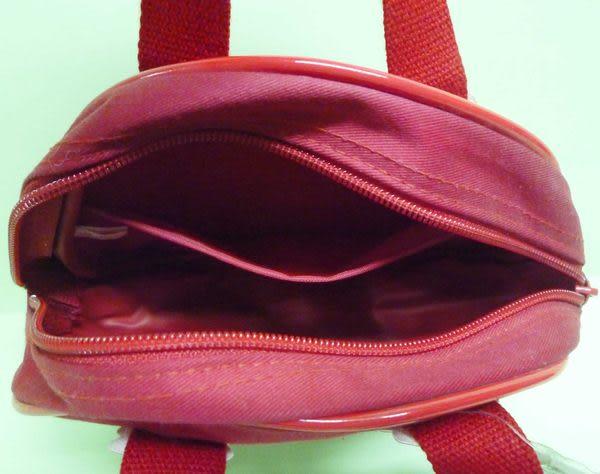 【震撼精品百貨】Hello Kitty 凱蒂貓~小手提包『紅底小白花』