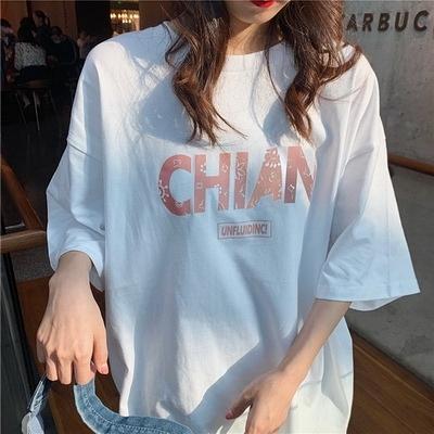 (下殺)彈性棉市場價短袖T恤印花【08SG06613】