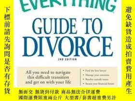 二手書博民逛書店The罕見Everything Guide to DivorceY410016 Milinda J Reed