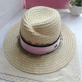 草帽-遮陽時尚優雅蕾絲織帶女帽子73ti11[時尚巴黎]