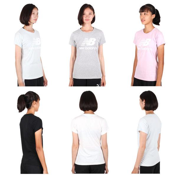 NEW BALANCE 女短袖T恤(慢跑 路跑 NB 免運 ≡排汗專家≡