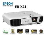 新竹投影機專賣店【名展音響】EPSON EB-X41 商務應用會議 高亮度XGA投影機