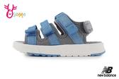 New Balance涼鞋 男童涼鞋 NB涼 防水涼鞋 韓版 韓國製 女童涼鞋運動涼O8557#藍色◆OSOME奧森鞋業