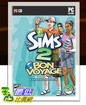 [106美國暢銷兒童軟體] The Sims 2: Bon Voyage - PC CD-Rom (Expansion Pack)