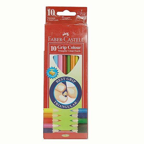 Faber-Castell大三角彩色鉛筆3.3mm 10色 *116510