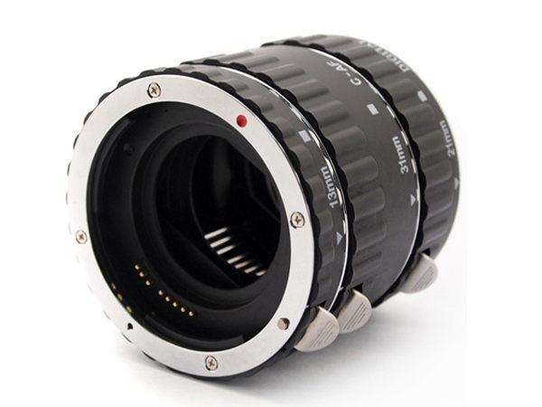 Canon EOS EFS EF 卡口 自動對焦 鋁合金 近攝鏡 接寫環 微距鏡 【AYZA83】