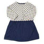 Carter s 短袖洋裝套裝 薄外套+短袖包屁裙二件組深藍裙 女寶寶【CA121H748】
