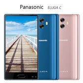 【送+5200mAh移動電源+藍芽耳機】Panasonic ELUGA C 窄邊日系手機